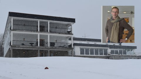 ETABLERT: Borger AS har kjøpt og etablert seg på Paulsrud. Administrerende direktør, Herman Bay, sier at han har kikket på bygget i flere år.