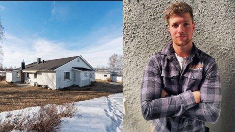 SATSER: Nicklas Kruse Malerstuen har kjøpt seg bolig i Totenvika og etablerer selskap på Skreia.