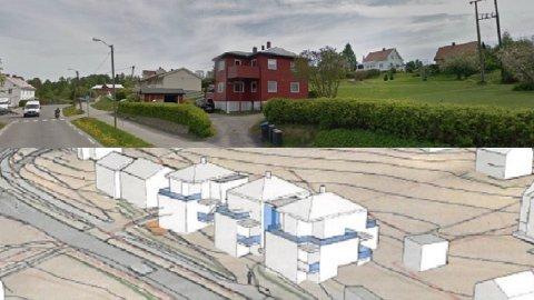 KRITISKE: Naboene til Lundegården er veldig kritiske til utbyggerens planer.