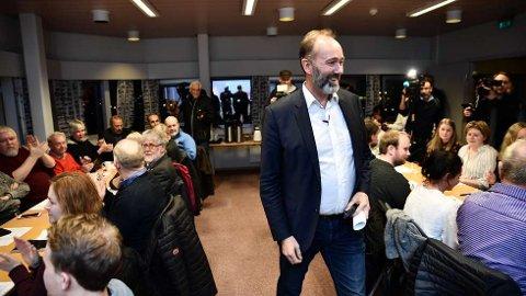 Trond Giske har stor støtte i Trøndelag Ap. Nå kan han bli fylkesleder. Foto: Johan Arnt Nesgård