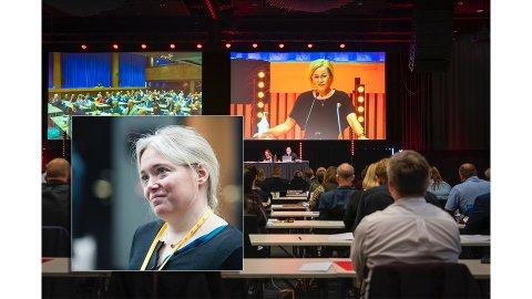 VG-kommentator Tone Sofie Aglen gjester Saklista og kommenterer helgas årsmøte i Trøndelag Arbeiderparti, som i likhet med fjorårets møte (bildet) preges av konflikter i forkant.