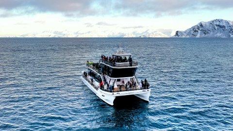 POPULÆRT: Birtisk storavis erklærer en tur med båten Brim som et av verdens virkelige reiseeventyr. Da blir også eieren fornøyd.