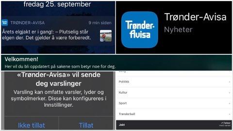 Trønder-Avisas nyhetsapp vil gi deg varslinger som du selv velger ut fra kategoriene du er interessert i. Nederst i saken finner du oppskriften.