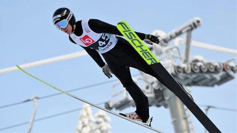 4.- og 6. PLASS: Steinkjer Skiklubbs Jonas Viken kom på 4..- og 6. plass i helgas to norgescuprenn i Lysgårdsbakken i Lillehammer.