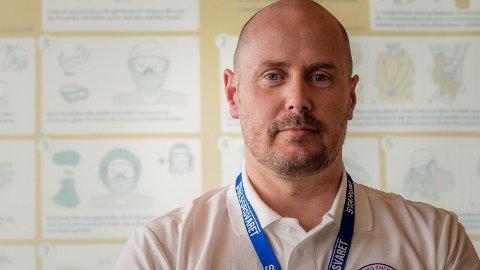 Terje Henriksen jobber til daglig som avdelingsleder i brannvesenet. De nærmeste ukene vil han jobbe i det som betegnes som Italias episenter for kornaviruset.