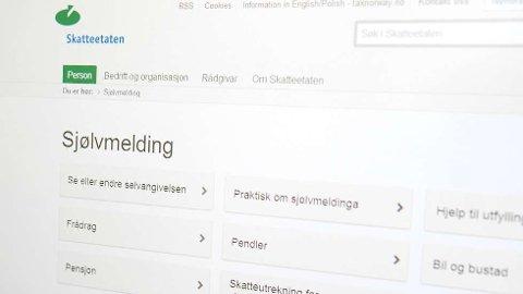 Nynorsk: Nær ein halv million vil ha skattemeldinga på nynorsk.