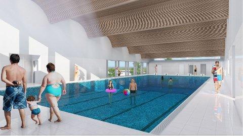 Får pengar: Sør-Aurdal får 3,6 millionar kroner frå Norsk Tipping til svømmehall på Fossvang.  Dette er den største enkeltsummen til Valdres i 2018.