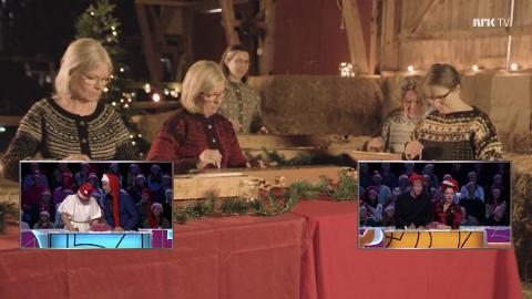Nytolkning med snert: Valdreslaget i Oslo sørga for nytolkning av en moderne juleklassiker i beste sendetid på NRK da de framførte Whams «Last Christmas» på langeleik i musikkprogrammet «Ti på topp».