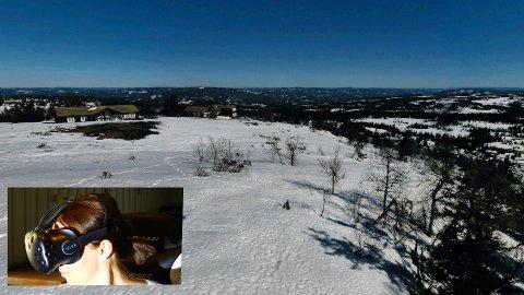 På hyttemessen på Hellerudsletta 25 til 28 april vil man kunne se tomtene på Ølnesseter gjennom VR-briller. De besøkende vil få låne VR briller og kan sitte å se tomtene i en virtuell virkelighet.