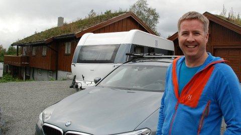 SPARTE STORT: Jan Ove Røvang fra Beitostølen sparte 13.000 kroner på å samle forsikringene sine i ett selskap.