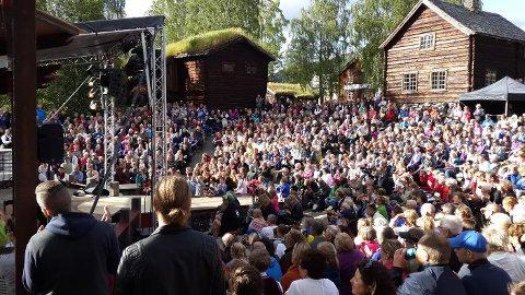 Trekker folk: Jørn Hilme-stemnet trekker mye folk til Valdres.