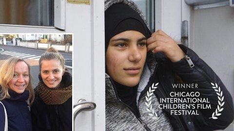 """Pris: Anne Silje Bø (t.v) og Sunniva Sundby har fått anerkjennelse i Chicago med dokumentarserien """"Sjuende på ekte"""", som gikk på NRK TV i fjor høst."""