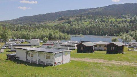 UTVIDA: Campingområdet ved Hålimo camping er litt utvida og oppgradert før årets sesong.