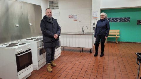 NYE KJØKKENKRAV: UDI sier kjøkkenløsningen ved asylmottaket i Vang er et problem med hensyn til nye smittevernregler for asylmottak.