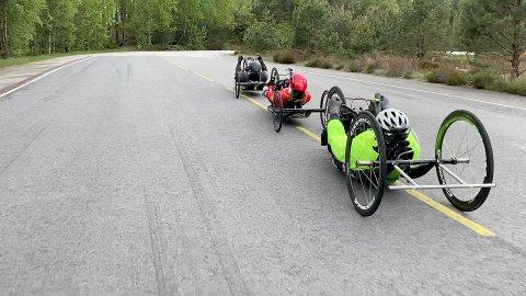 STØRRE INTERESSE: Med BikeRidderCamp håpar Foreningen Ridderrennet at det skal bli større interesse for para-sykling for syns- og rørslehemma.