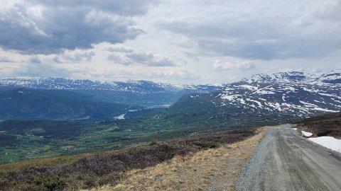 Vegen over Slettefjellet opnar i juni.