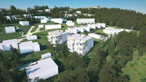 AVTALEN I BOKS. Nordbohus og Nittedal kommune undertegnet avtalen i september.