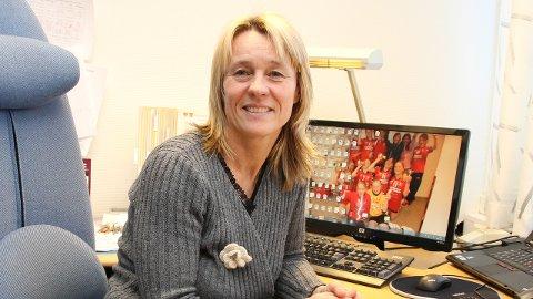 I KARANTENE: Vibeche Holte, rektor for voksenopplæringen i Gran og Lunner, er en av sju ansatte ved skolen som er satt i hjemmekarantene. ARKIVFOTO
