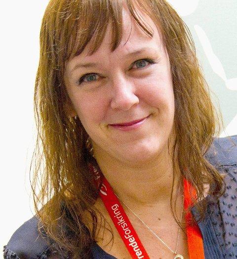 Kommunikasjonssjef Heidi Tofterå Slettemoen i Frende.