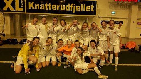 HSV hadde med seg tre kretsspillere for jentelaget til Østfold fotballkrets.