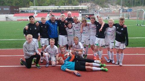 HSV G03 etter 2-3 seier over DFI på Seiersten Stadion i Drøbak