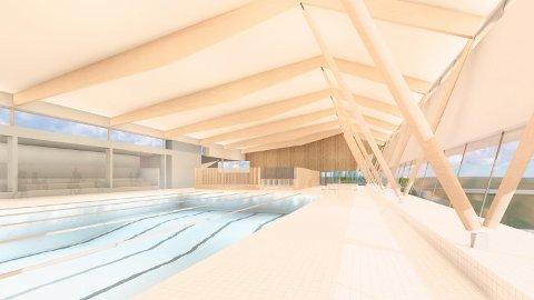 SVØMMEHALL: En svømmehall ved Vestby Arena kan bli dyrere enn antatt.