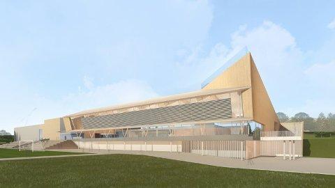 ØNSKER FORTGANG: Arbeiderpartiet vil ha byggestart for svømmehall ved Vestby Arena i 2020, og ikke utsette byggestarten med ett år, slik som rådmannen foreslår.