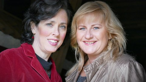 SYNGER: Sangduoen Suzanne Murphree og Irene Lundblad opptrer i Filadelfia Vestby fredg 14. desember.