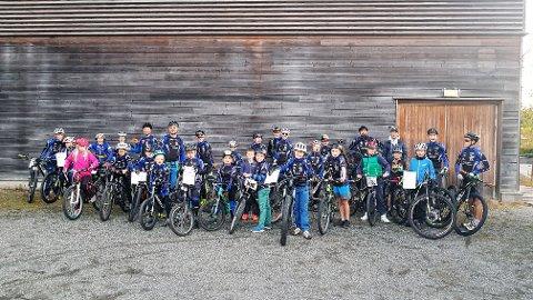 Populært: Soon CK`s terrengsykkelskole ble nok en gang fylt opp av ivrige syklister som ønsket å teste ut sportens utfordringer og gleder.