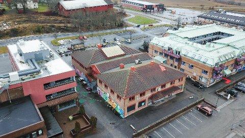 Biblioteket i Vestby holder til i bygget som skal rives når det nye kulturkvartalet skal bygges.