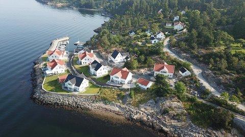 HVITSTEN: Flere flotte eneboliger til høye priser er solgt i Hvitsten den siste tiden, forteller eiendomsmegler André Gabrielsen.