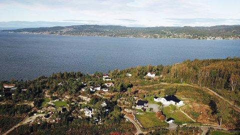 På dette området skal de 29 hyttene oppføres.