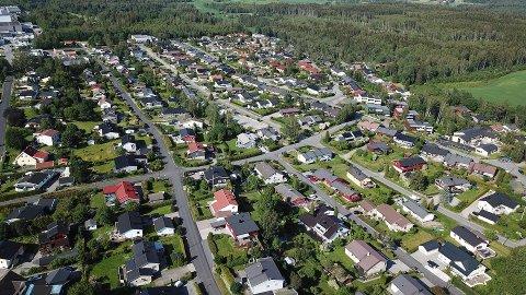 Øvre del av Randem blir uten vann i dag.