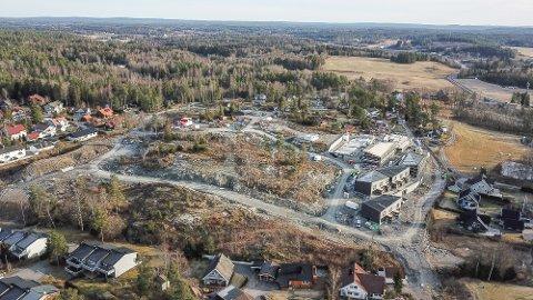 Skoglundkollen i Son er et av utbyggingsområdene for nye boliger. Nå er ikke området lenger en faresone.