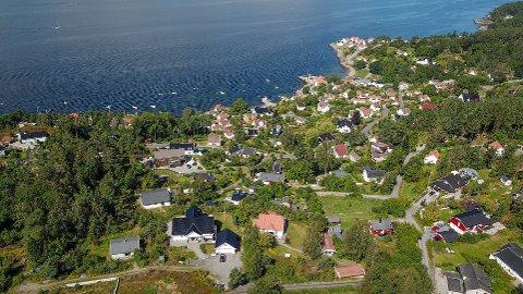 De neste årene kan det komme flere nye boliger i Hvitsten.