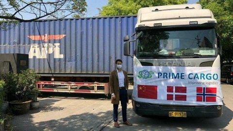 Wilhelm Georg Blomdal er en av Prime Cargos ansatte som jobber i Kina. Han snakker kinesisk og bisto da lasten skulle sjekkes før den strabasiøse turen mot Norge og Vestby begynte.