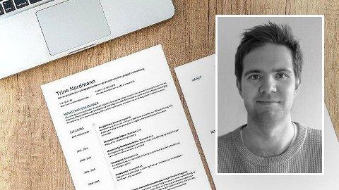 RESULTATFOKUS: CV-guru, René Brunsvik, mener det er viktig å fremheve suksesshistoriene når du skriver CV.