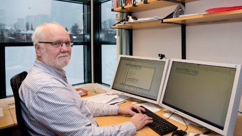BEDRE ENN VENTET: – Vi kan avdramatisere faren ved PC-arbeid gjennom å si at det gir lettere og mer kortvarige plager enn man kanskje har ventet, sier forsker Bo Veiersted.