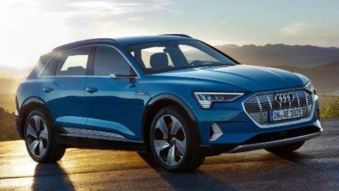Audi e-tron bygges i Belgia, de første eksemplarene er allerede ferdigstilt der.
