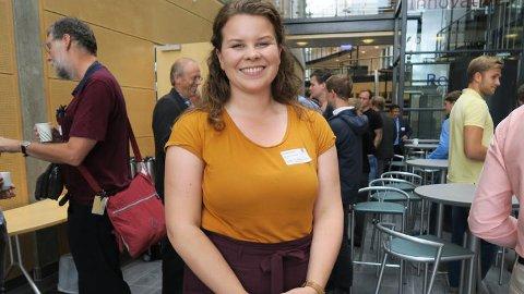 PRAKTISK ERFARING: Industrimasterstudent Martine Alvestad mener programmet gir henne praktisk erfaring og et bredt nettverk.