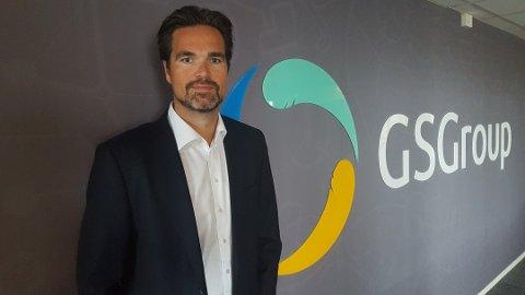 FORNØYD: Administrerende direktør Espen Virik Ranvik i GSGroup, er godt fornøyd med utviklingen selskapet har hatt i 2018.