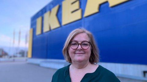 STORE ENDRINGER: Clare Rodgers har vært sjef for Ikea i Norge siden 2015.Foto: Halvor Ripegutu