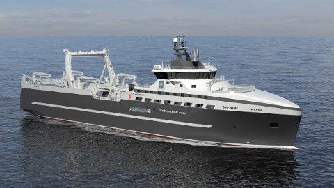 - MER MILJØVENNLIG: Det nye fiskefartøyet Kongsberg Maritime skal konstruere og utstyre skal gi et mer bærekraftig fiske gjennom bedre utnyttelse av alle ressurser, hevder konsernet.