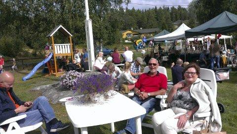 Marked: Høstens marked er populært og er blitt et varemerke for grendestua. Foto Morten W. Ernø