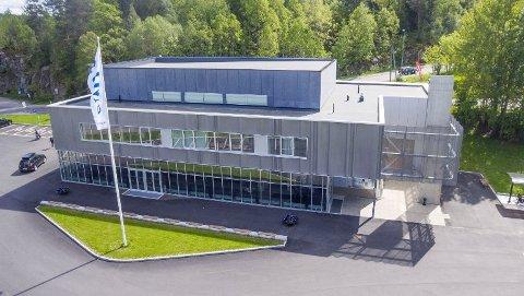 PRIS: Det har kostet ca. 55 millioner kroner å bygge Smia. Sluttoppgjøret er nå blitt kjent. Dronefoto: Tor Arne Dunderholen.