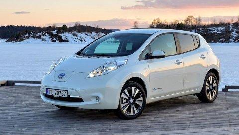 Nissan Leaf er en av pionerene i elbilmarkedet. Den har også vært en stor salgssuksess i Norge.