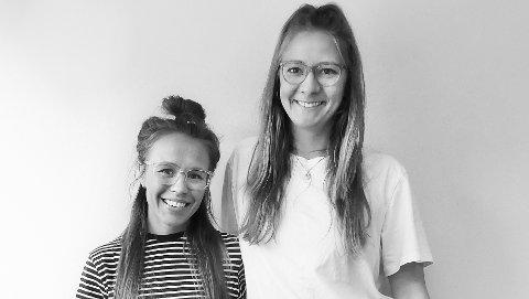 Stina Skånhoff og Marilena Frye er engasjert i kampen mot plast. Nå kjemper de om 150 000 kroner til et grunderprosjeket.