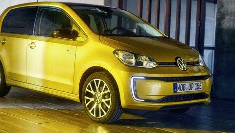 VW kommer nå med en oppgradert utgave av sin elektriske e-up, som får både lengre rekkevidde og lavere pris.