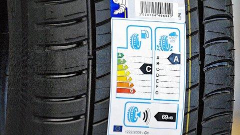 Dekk er ikke bare sorte og runde. De er ganske komplekse, men denne lille lappen skal hjelpe oss. Illustrasjonsbilde fra Michelin.