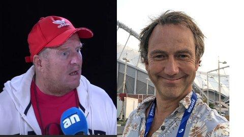 Full fyr: Trond Schjølberg tenner på alle plugger etter Jan Petter Saltvedts kommentar søndag. Kommentatoren mener Schjølberg må lese hva han har skrevet.